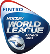 Hockey world league Antwerp logo
